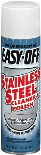 Easy-Off Professional, Stainless Steel Cleaner and Polish, 17 Ounce (Pack of 2)