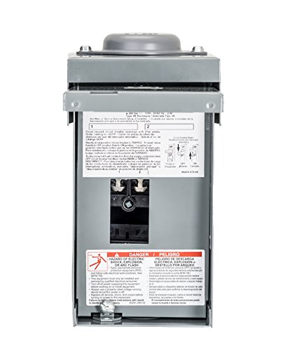 Square D by Schneider Electric QO2L40RBCP 40A LOAD CENTER , Grey