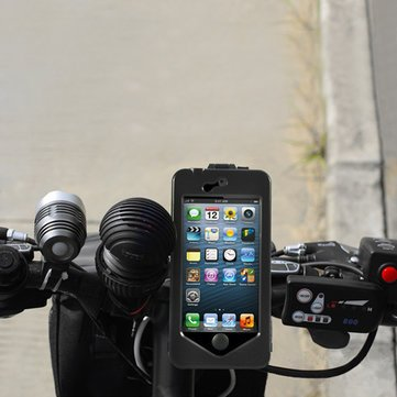 Generic IPX8 Waterproof Bike Bicycle Mobile Phone Case for Iphone5