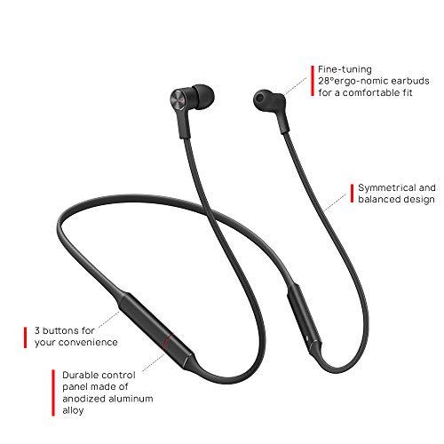 Huawei FreeLace ultraleichtes Bluetooth Headset 'CM70-C' mit HiPair, Schwarz - 6