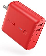 Anker PowerCore Fusion 5000, Portable Charger 5000mAh 2-in-1 with Dual USB Wall Charger, Foldable AC Plug and PowerIQ, Battery Pack for iPhone, iPad, Android, Samsung Galaxy, and More