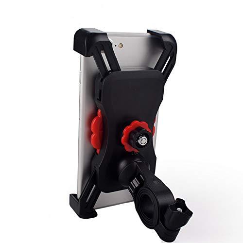 Amadon Fahrrad Handyhalter - Anti-Rutsch-stabile 360 ° drehbare Halterung Navigations, Einknopf Verriegelungssicherheitstelefonhalter, kompatibel mit 3,5-7 Zoll-Handy