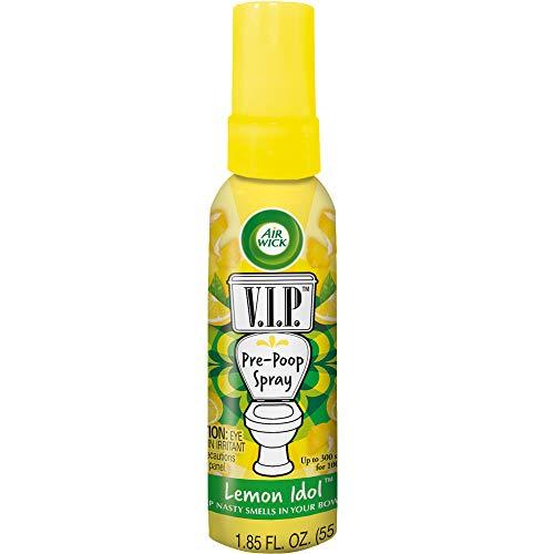 Air Wick V.I.POO Pre-Poo Toilet Spray, Lemon Idol, 1.9 oz by Air Wick