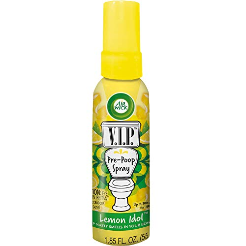 Air Wick V.I.POO Pre-Poo Toilet Spray, Lemon Idol, 1.9 oz by Air Wick