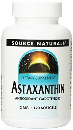 Source Naturals Astaxanthin 2 mg Antioxidant Carotenoid - 120 Softgels