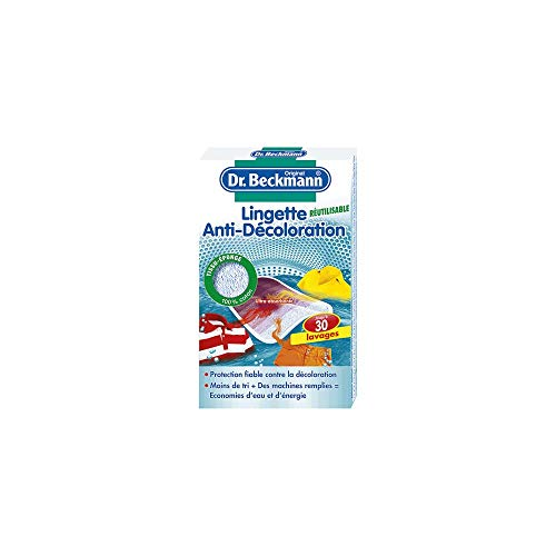 DR BECKMANN Lingettes anti-decoloration reutilisable