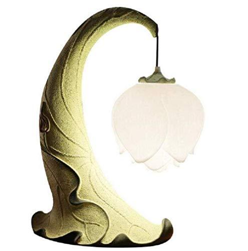 Meixian Wandlamp, moderne lamp, woonkamer, studeerkamer, slaapkamer, bedlampje, kunsthars, tafellamp, 220 V, hoog, 50 cm breedte, 32 cm, eenvoudig retro