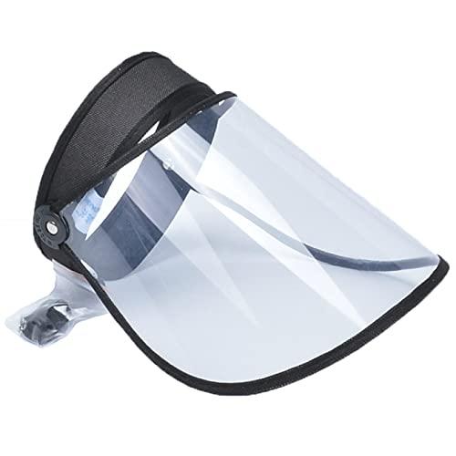 Lsdnlx Cappello da Sole,Cappelli da Sole in plastica con Visiera in PVC Cappelli da Donna con Colori Caramelle Cappellini da Esterno Casuali per la Protezione dai Raggi UV in Bicicletta