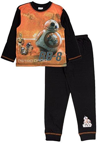 Pijama de Star Wars, de Disney, para niños Naranja Star Wars - Driods - BB-8 4-5 Años