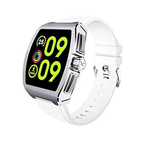 Smartwatch, llamada inalámbrica, reloj inteligente, contador de pasos, rastreador de ejercicios a prueba de agua para deportes al aire libre, compatible con la pulsera inteligente Android iPhone