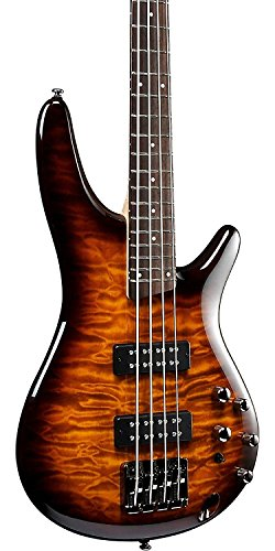 Ibanez SR400EQMDEB SR Standard Bass Guitar Dragon Eye Burst w/Hard Case and Gea