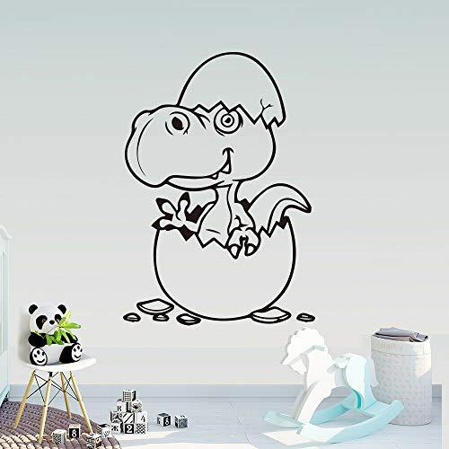JXFM Born Dragon muursticker, draak, baby, kinderen, slaapkamer, decoratie, muurtattoo, vinyl, tekening, decoratie, afneembaar, 60 x 42 cm