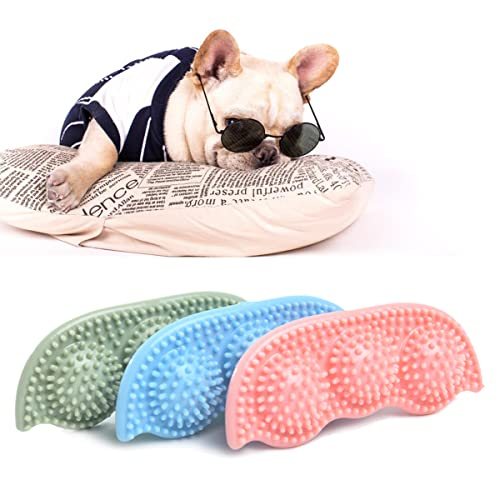 3Pcs Dog Chew Toy Puppy Teething Toy Soft Dog Tooth Brush...