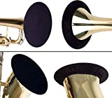 Trumpet Bell Cover - 5 inch, Instrument Bell Cover Trumpet, Instrument Bell Cover for Trumpet Alto Saxophone Bass Clarinet Cornet (1 PCS)