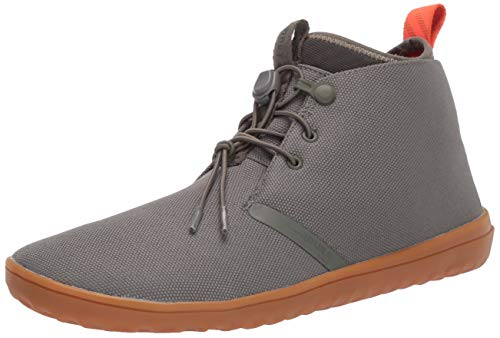Vivobarefoot Gobi Ii Utility, Mens Winter Lace Up Desert Boot with Durable Barefoot Sole Dusty Olive