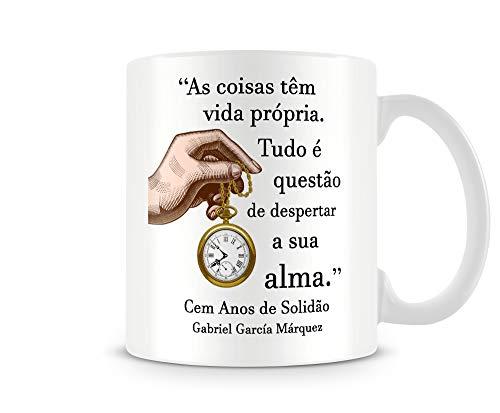 CANECA LITERATURA CEM ANOS DE SOLIDÃO - GABRIEL GARCÍA MÁRQUEZ