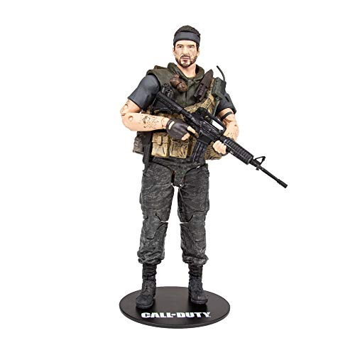 McFarlane Frank Woods 10412-7 Call of Duty Actionfigur, 18 cm