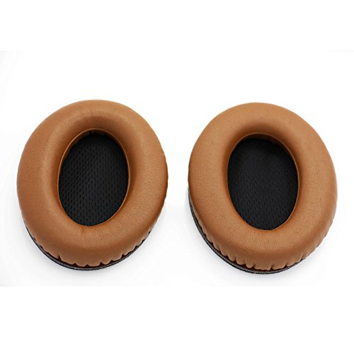 ShineCozy Premium koptelefoon oorkussens Eiwit lederen schuim oorkussens, headset oorkussentjes Reserve vervangende onderdelen (For Bose QC2/QC15/AE2/AE2I/QC2 Coffee D-53)