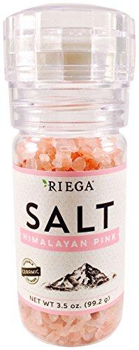 Riega Himalayan Grinder Pink Salt, 3.5 Ounce