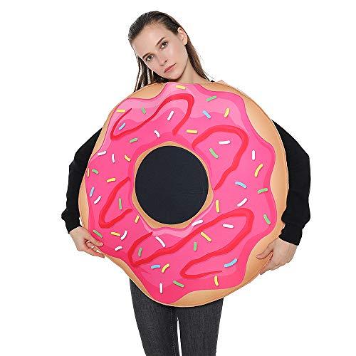 EraSpooky Krapfen Donut Nahrung Erwachsene Kostüm Kinder Snacks Lustige Herren Damen Kostüm Outfits