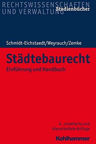 Städtebaurecht: Einführung und Handbuch: Einfuhrung Und Handbuch (Studienbücher Rechtswissenschaft)