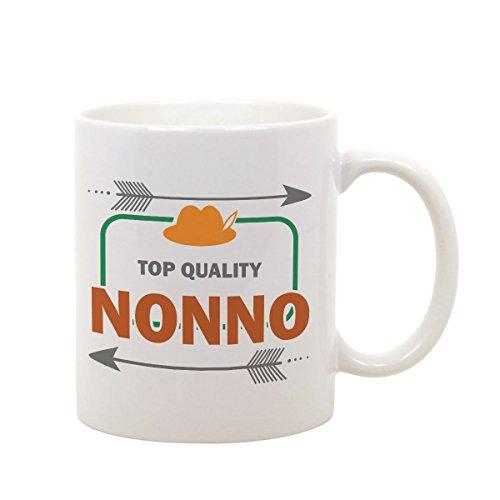 Bubbleshirt Tazza Mug In Ceramica Festa Dei Nonni Nonno - Nonno - Idea Regalo