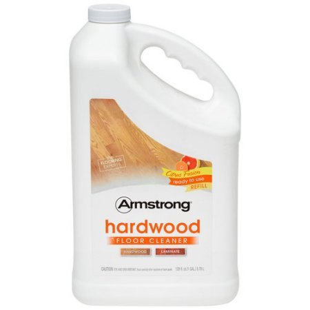 Armstrong Citrus Fusion Hardwood Floor Cleaner, 128 fl oz (1)