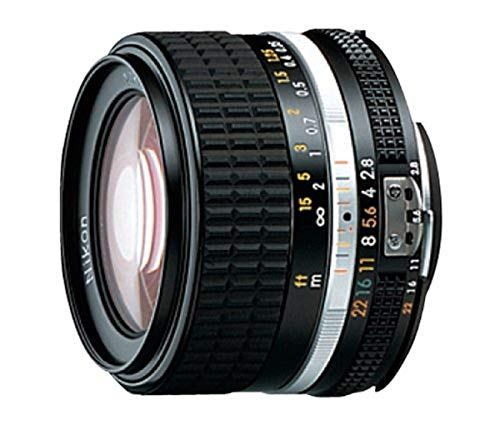 Nikon Nikkor 28 mm f:2.8 AiS - Objetivo (Diámetro: 52 mm), negro