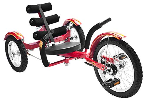 Mobo Mobito Kids 3-Wheel Bike. Recumbent Trike. Childs Cruiser Tricycle