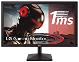 LG 22MK400H-B - Monitor Gaming FHD de 55.8 cm (22') con Panel TN (1920 x 1080 píxeles,  16:9,  1 ms,  75Hz,  200 cd/m²,  600:1,  NTSC 72%, D-SUB x1, HDMI x1) Color Negro Mate