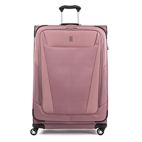 Travelpro Maxlite 5-Softside Expandable Spinner Wheel Luggage, Dusty Rose, Checked-Large 29-Inch