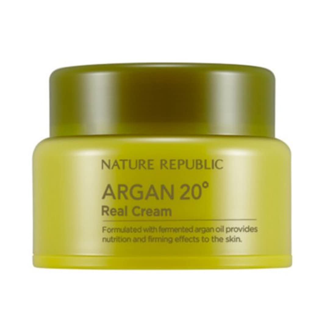 固める週間配送[ネイチャーリパブリック] Nature republicアルガン20oリアルクリーム海外直送品(Argan20oReal Cream) [並行輸入品]