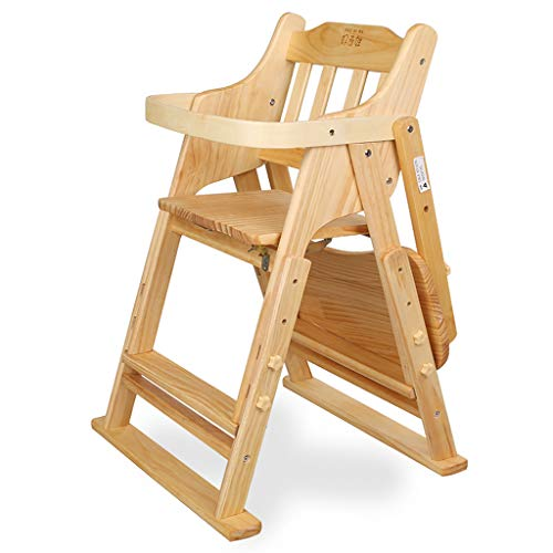 Best Prices! Children's dining chair Solid Wood Lifting Multi-Function Collapsible Portable Eating B...
