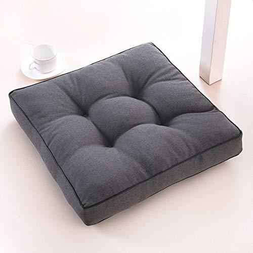 Yidzrx Comfort-zitkussen voor tuinstoel Booster Rise stoelkussen crème voor drukontlasting 50x50cm(20x20inch) C