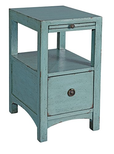 Treasure Trove Accents Compass Rose End Table, Satin Nickel Finish