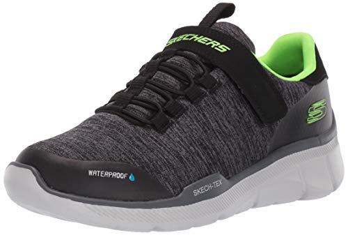 Skechers Equalizer 3.0 - Aquablast Schwarz/Charcoal Textil