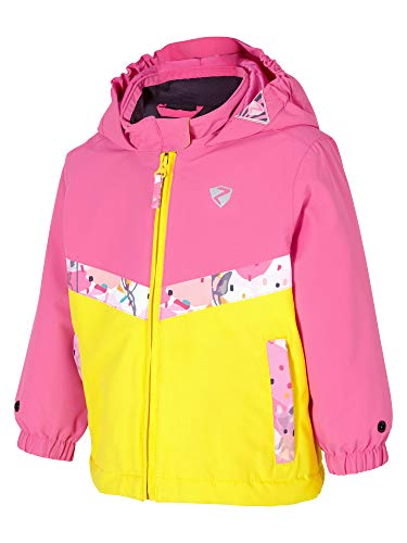 Ziener Kinder AMAI mini (jacket ski) Baby Skijacke/Winterjacke | Wasserdicht, Winddicht, Warm, pink Dahlia, 98