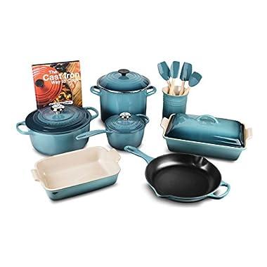 Le Creuset 16-piece Cookware Set (Marine)