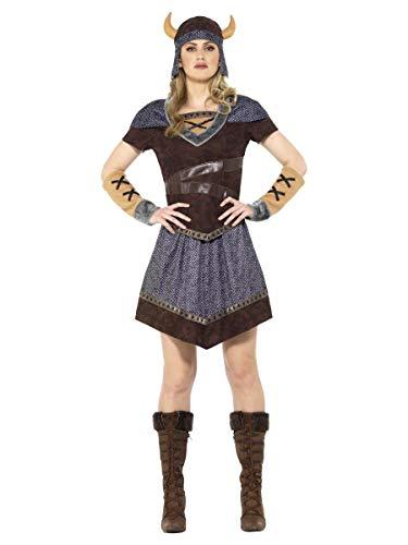 Smiffys Wikingerin Damen Kostüm Karneval Viking Lady Costume Barbarin