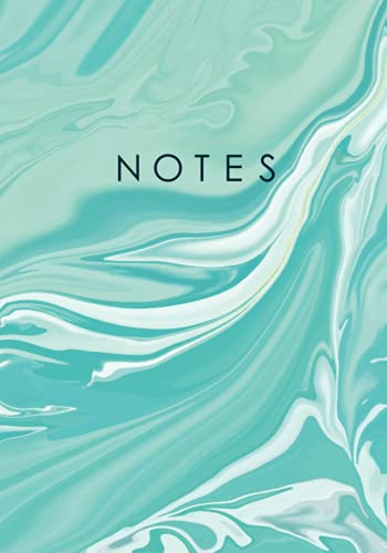 notebook 7 pollici Notebook: Aesthetic Marble Notebook