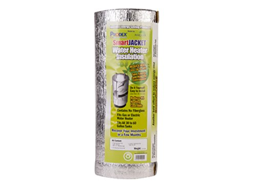 SmartJacket Water Heater Blanket Insulation System, Energy Star Certified, R value-7.1
