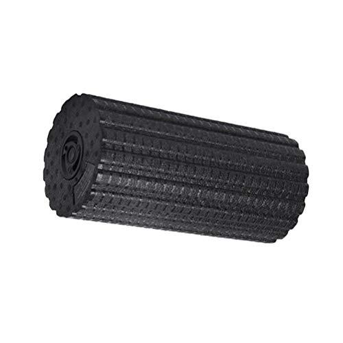 ABOOFAN Rodillo de Espuma de Masaje de vibración eléctrica Ajustable de Cuatro velocidades Columna de Yoga Respaldo Recargable Ajuste de piernas Masajeador Fitness Palo de Masaje eléctrico ()