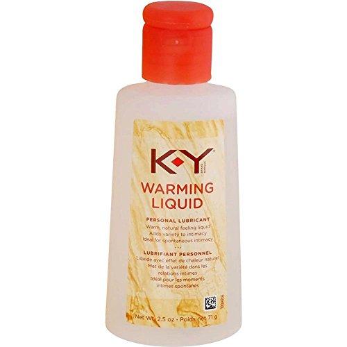 K-Y Warming Liquid Lubricant, 2.5 oz