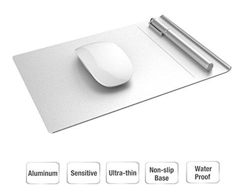 Vogek aluminum mouse pad con separabili con base antiscivolo