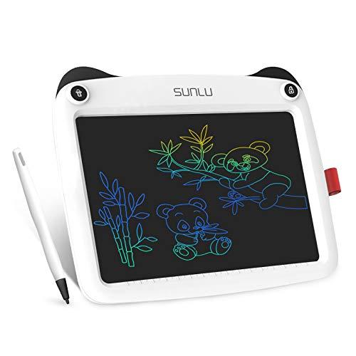 SUNLU Tavoletta LCD per scrivere e scrivere, ideale come regalo per bambini e adulti, per ufficio, scuola, casa (9 pollici), colore: bianco