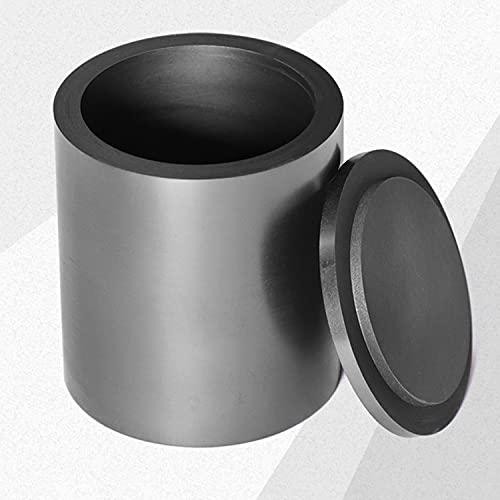 AIMIMI Crisol de Grafito Taza de fundición Horno de Resistencia a Altas temperaturas Antorcha para fundición Fundición Refinación Oro Plata Cobre Latón Aluminio,2ml