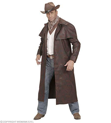 WIDMANN Desconocido Disfraz de Abrigo de Cowboy Marron - Talla XL