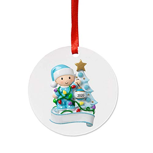 2020 Christmas Ornaments Hanging Decoration Gift Product Personalized Family