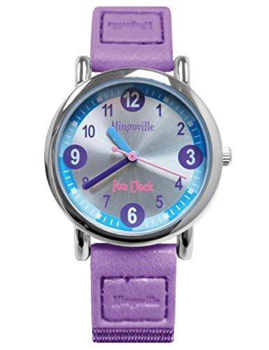 mingoville Fun Clock Horloge d'apprentissage avec App–Bracelet de montre Mixte a46a652–2s4a