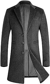 コート メンズ 冬ジャケット ロング丈 ウール オシャレ ビジネス チェスターコート 通勤コート1701グレー XL(日本XXXLに相当)